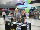 Shopping Centres are a good way to let people know about HU4K and recruit more volunteers