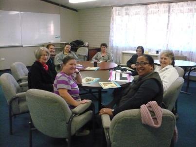 Initial meeting of HU4K Volunteers in School staff room