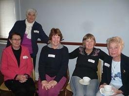 Groups of School volunteers in their teams enjoying  Volunteer Exchange Network event