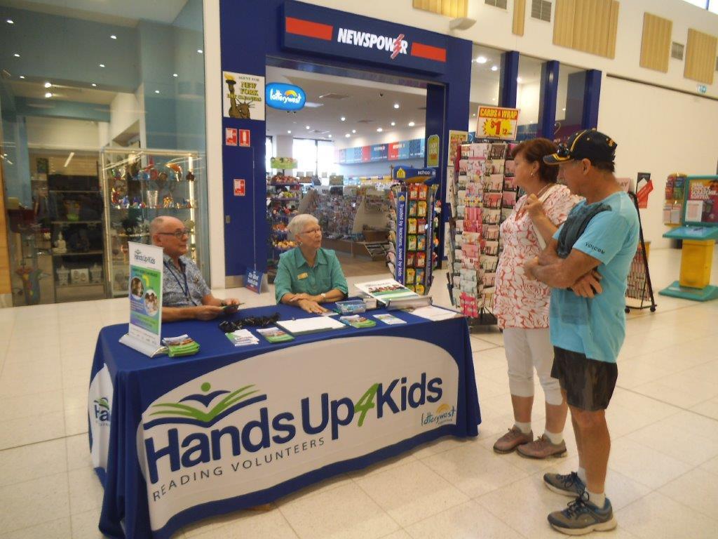 Recruiting at Dalyellup Shopping Centre